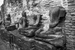 La statue cassée de Bouddha Images stock