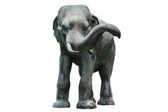Style d'Asiatique de sculpture en éléphant photo libre de droits