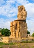 La statue d'Amenhotep III Photographie stock