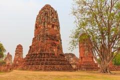 La statue d'un Bouddha Photo libre de droits
