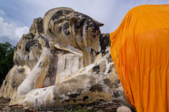 La statue de Bouddha Photos stock