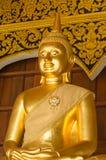 La statue de Bouddha dans le temple de repaire d'interdiction, Thaïlande Image libre de droits
