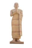 La statue de Bouddha font la forme poncer le storne Images stock