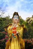 La statue de Chao Mae Kuan Im ou de Guanyin Photographie stock