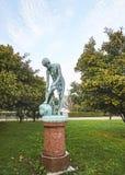 La statue de cuivre d'Efter Badet photo libre de droits