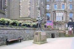 La statue de Dundee de la pièce d'Adam Duncan de l'histoire de la ville en Ecosse image libre de droits