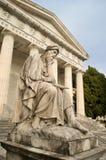 La statue de Giobbe chez Staglieno photos stock
