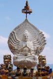 La statue de Guan im Bouddha Images libres de droits