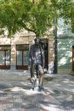 La statue de Hans Christian Andersen Image libre de droits