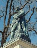 La statue de Hercule par Cameron Gallery dans Catherine Park Image stock