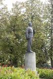 La statue de Lénine à l'université de Kazan, Fédération de Russie Photo stock