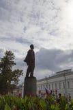 La statue de Lénine à l'université de Kazan, Fédération de Russie Photo libre de droits