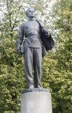 La statue de Lénine à l'université de Kazan, Fédération de Russie Images libres de droits