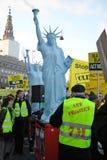 La statue de l'Amérique Images stock