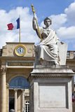 La Statue de la Loi outside Palais Bourbon in Paris Royalty Free Stock Images