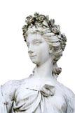 La statue de la nymphe Images libres de droits
