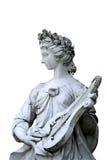 La statue de la nymphe de musique Photographie stock libre de droits