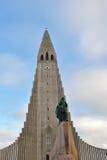 La statue de Leif Eriksson image libre de droits