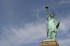 La statue de la liberté du côté droit Photographie stock libre de droits