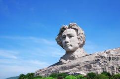 La statue de Mao de Président Photographie stock libre de droits