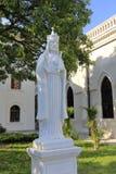 La statue de marbre blanche de Jésus Photos stock