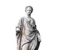 La statue de marbre de romain Ceres ou le Demeter grec image stock