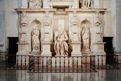 La statue de Michaël Angelo de Moïse, ROME, ITALIE image libre de droits