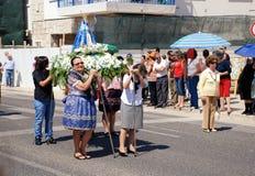 La statue de notre Madame de Fatima Photos stock