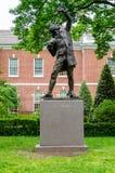 La statue de signataire, Philadelphie Images libres de droits