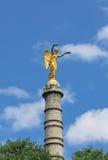 La statue de victoire sur le fléau photographie stock libre de droits