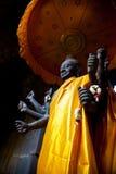 La statue de Vishnu de Dieu dans Angkor Wat Photo libre de droits