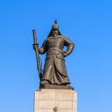 La statue de YI Sun-Shin Photographie stock libre de droits