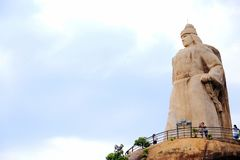 La statue de Zheng Chenggong photos libres de droits