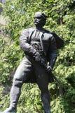 La statue des Vasa Carapic de Vasilije à Belgrade, connue sous le nom de dragon d'Avala était le commandant militaire serbe qui a Photo stock