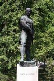 La statue des Vasa Carapic de Vasilije à Belgrade, connue sous le nom de dragon d'Avala était le commandant militaire serbe qui a Photos libres de droits