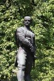 La statue des Vasa Carapic de Vasilije à Belgrade, connue sous le nom de dragon d'Avala était le commandant militaire serbe qui a Image libre de droits