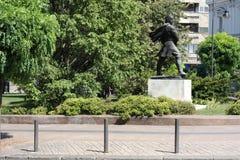 La statue des Vasa Carapic de Vasilije à Belgrade, connue sous le nom de dragon d'Avala était le commandant militaire serbe qui a Photos stock