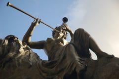 La statue du lyrique [01] Images libres de droits