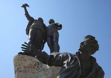 La statue du martyre (Beyrouth, Liban) images stock