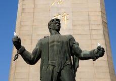 La statue du martyre commémoratif de Yuhuatai image libre de droits