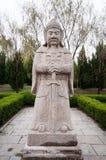 La statue en pierre générale de Ming Dynasty Photos stock
