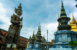 La statue géante à Bangkok Photos stock