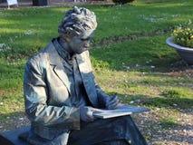 La statue vivante écrit des autographes clips vidéos