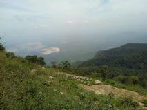 La stazione della collina di Yercaud è una delle stazioni della collina visitate in Tamil Nadu fotografia stock libera da diritti