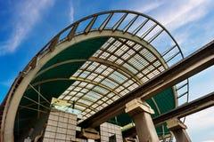 La stazione ferroviaria ad alta velocità di vista Immagini Stock Libere da Diritti
