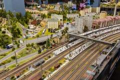 La stazione ferroviaria principale il museo di Gran-derisione è la città di St Petersburg Fotografie Stock Libere da Diritti