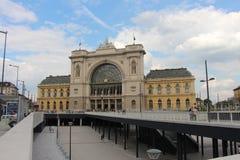 La stazione Keleti a Budapest Fotografie Stock Libere da Diritti