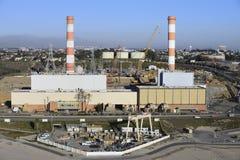 LA steam plant Stock Photo