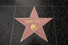 La stella di Greta Garbo Fotografie Stock