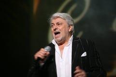 La stella di musica russa e sovietica, idolo di musica popolare, ha onorato l'uomo, milionario, autore, cantante, compositore Vya Fotografia Stock Libera da Diritti